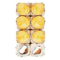 Запеченный с копченым лососем Фото