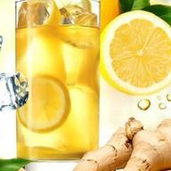 Лимонад лимонно-имбирный натуральный Фото