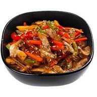 Мэй-ли рисовая лапша со свининой Фото