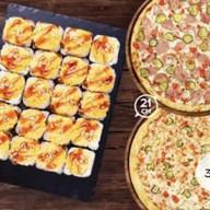 Комбо сет Бристоль + 2 пиццы 21 см Фото