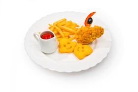 Картофель с курочкой - Фото