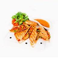 Кесадилья с овощами и творогом тофу Фото