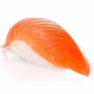 Копченный лосось суши Фото