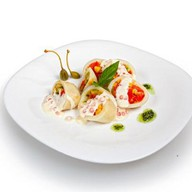 Кальмар с овощами Фото