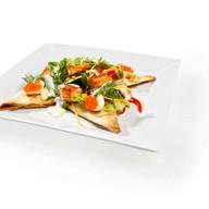 Салат из семги Фото