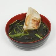 Мисо суп  с гедзе - эби Фото
