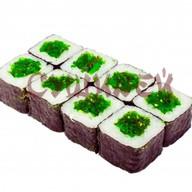 Классический ролл с салатом чукка Фото