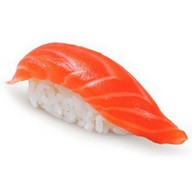 Суси с копченым лососем Фото