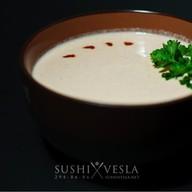 Крем-суп из норвежского лосося Фото