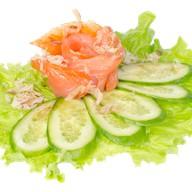 Сашими с копченым лососем Фото
