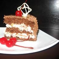 Торт «Шоколадный с банановым кремом» Фото