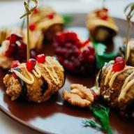 Сациви из баклажанов с орехами Фото