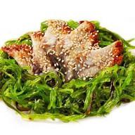 Чукка салат с угрем Фото