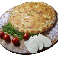 Пирог с фасолью и грибами Фото