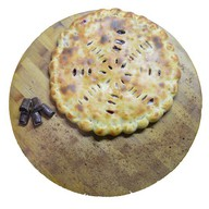 Пирог с вишней и шоколадом Фото