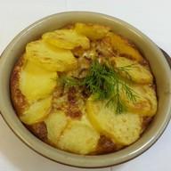Картофель в сливках Фото