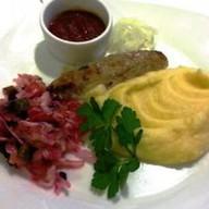Обед с люля-кебаб из курицы light Фото