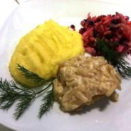 Комплексный обед с минтаем light Фото