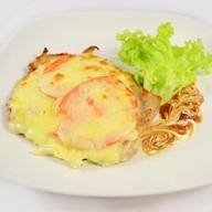 Мясо по-французски с картофелем Фото