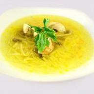 Суп-лапша грибная Фото