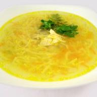 Суп-лапша куриная Фото
