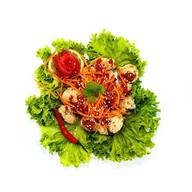 Вегетарианский салат Фото