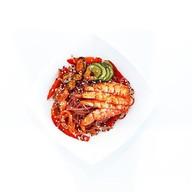 Бобовая фунчоза с морепродуктами Фото