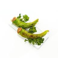 Жареный стручковый перец с фаршем Фото