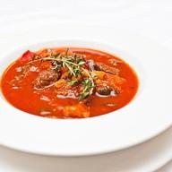 Густой суп из телятины Фото