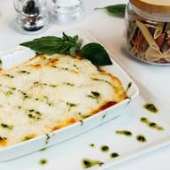 Лазанья с лососем и шпинатом Фото