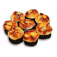 Шиитаке с сыром запеченный Фото