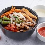 Фо-га с курицей суп Фото