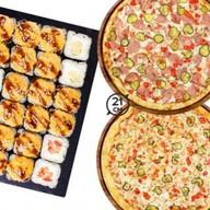 Комбо сет Бристоль + 2 пиццы 21 см Сборн Фото