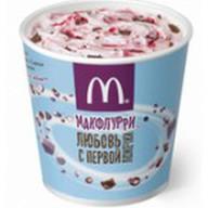 Макфлурри Де Люкс клубнично-шоколадное Фото
