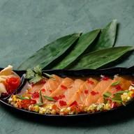 Карпаччо из лосося Фото