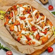 Римская пицца сицилийская Фото