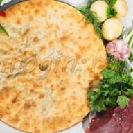Осетинский пирог с говядиной и свининой Фото
