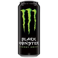 Энергетик Black Monster черный Фото