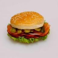 Хот-бургер Фото