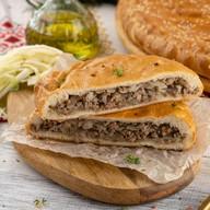 С мясом и капустой (сметанно-дрожжевой) Фото