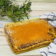 Пирог слоенный с тыквой и абрикосом Фото