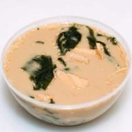 Сливочный суп с лососем (Сяке куриму) Фото