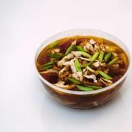 Острый суп со свининой (Тондзиру) Фото