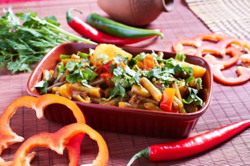 Блюда из фасоли рецепты с фото лобио
