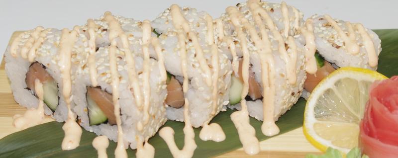 Роллы с лососем рецепт с фото