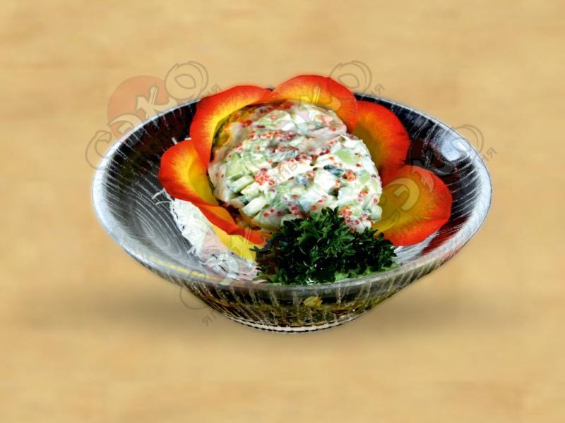 Салат авокадо сарада фото