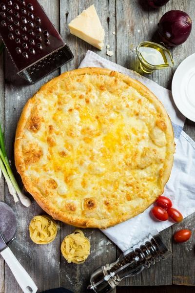 Пицца три сыра рецепт с фото